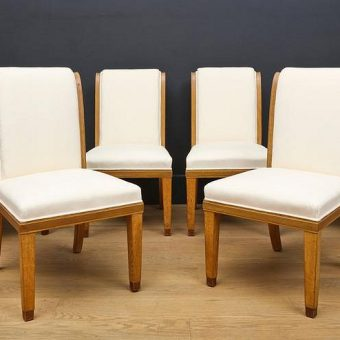 A Set of 14 Oak Dining-chairs attributed to Wake and Dean, 1930's