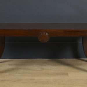 A William IV Style Mahogany Bench made from Antique Timber