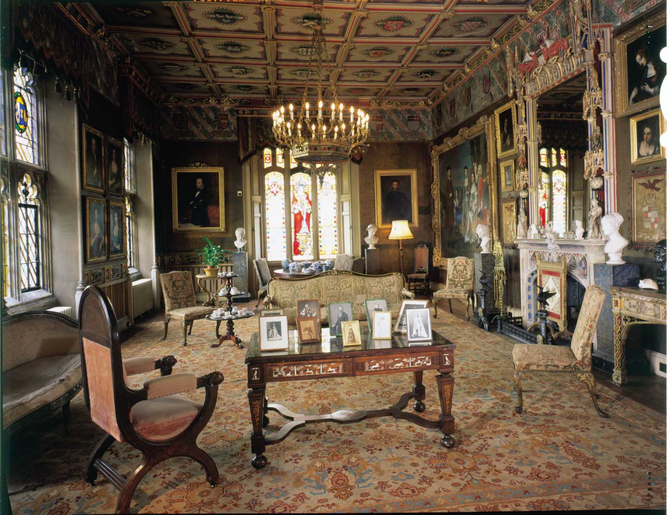Lower Library At Chatsworth