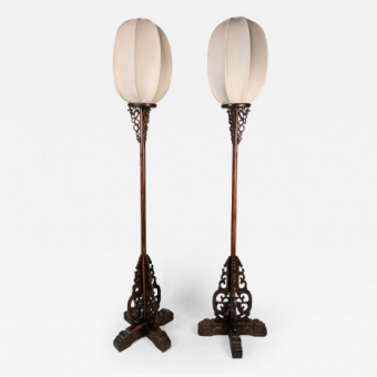 Chinese Lampstands