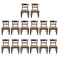 William IV Mahogany Dining Chairs