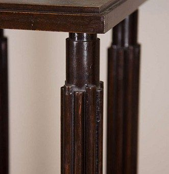 A Mahogany Model Stand designed by Sir John Soane