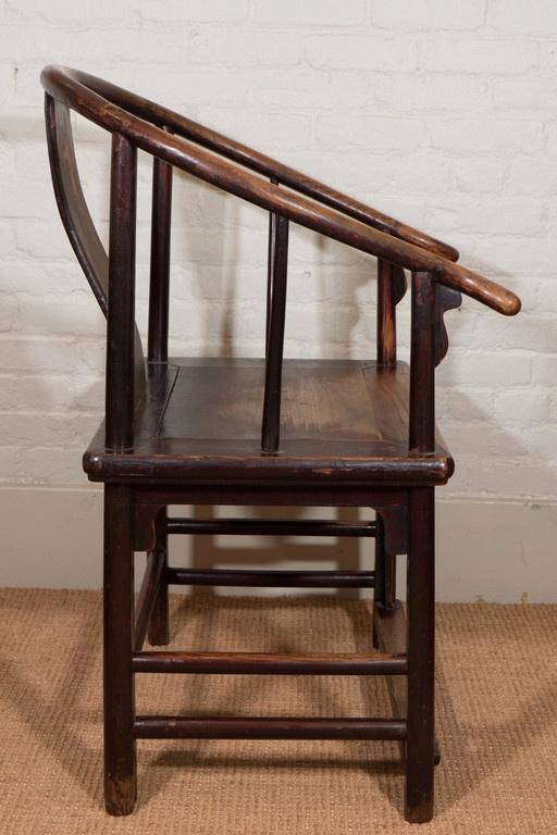 Pair Of 18th Century Chinese Horseshoe Chairs