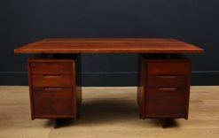 Double Pedestal Desk by George Nakashima, c. 1967