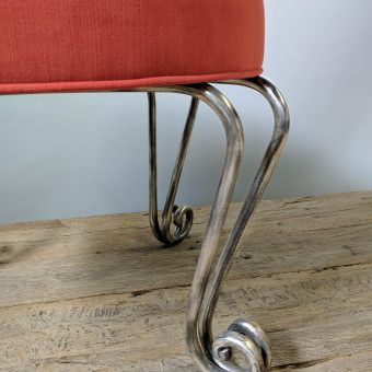 Red Stools Detail