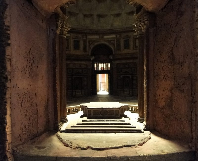 Interior Pantheon Cork Carl Joseph May