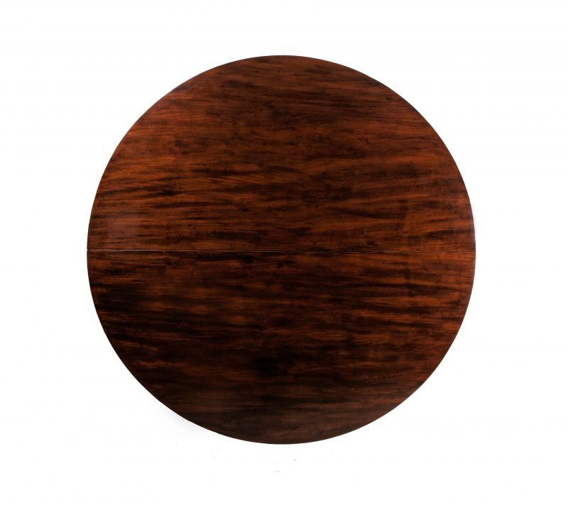 A Circular Mahogany Table in the Etruscan Taste by Jacob Desmalter, Circa 1810